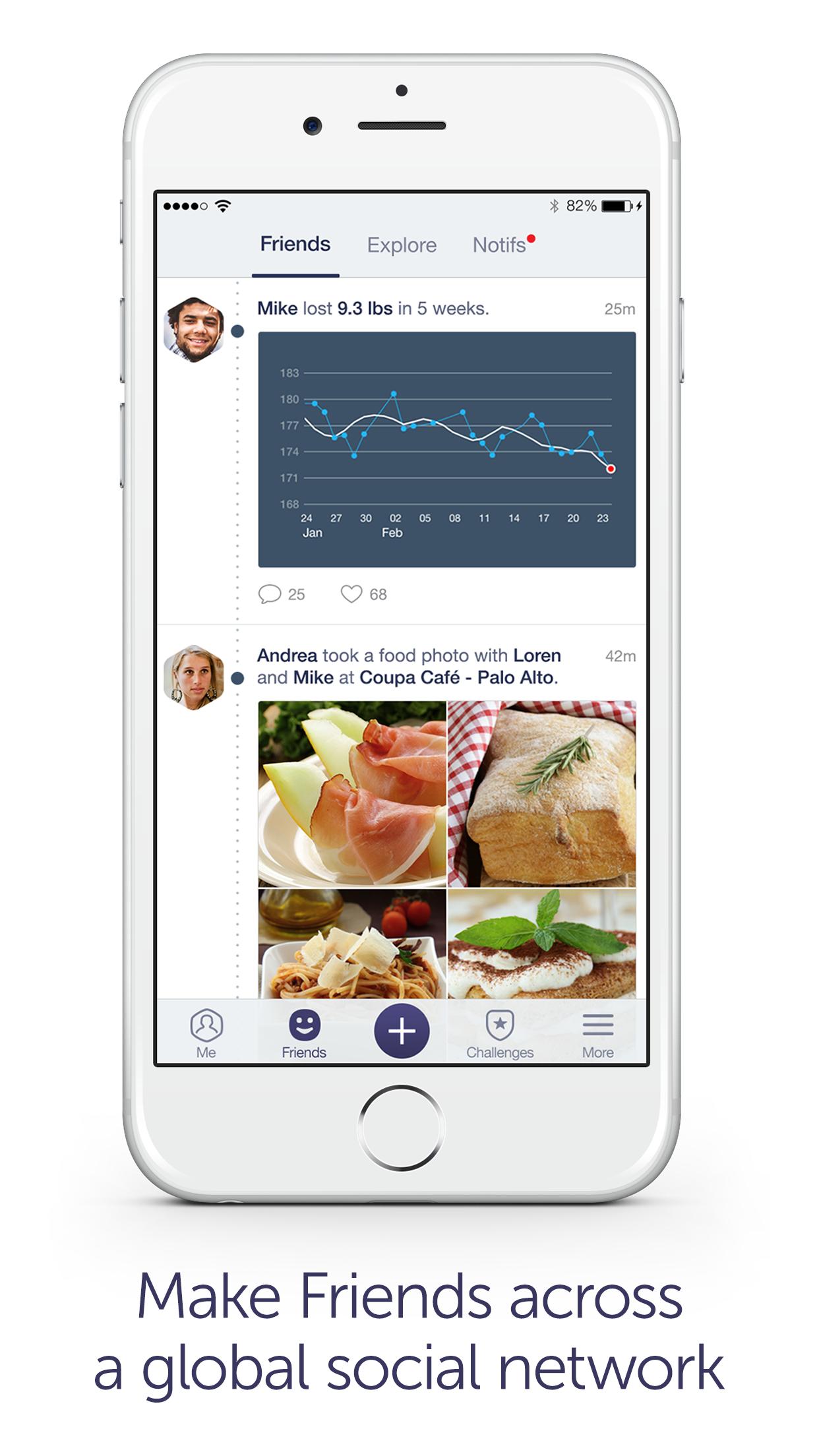 Argus: Calorie Counter & Step Screenshot