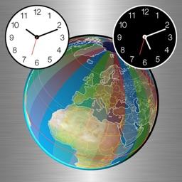 Clocks of Cities on Terra