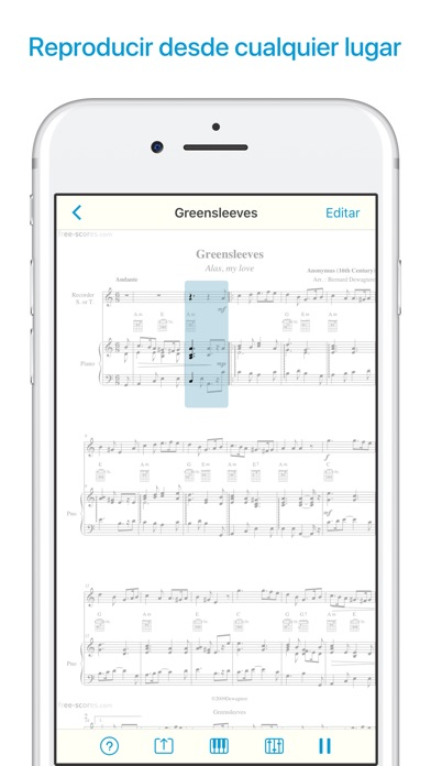 download Lector de partituras y notas apps 6