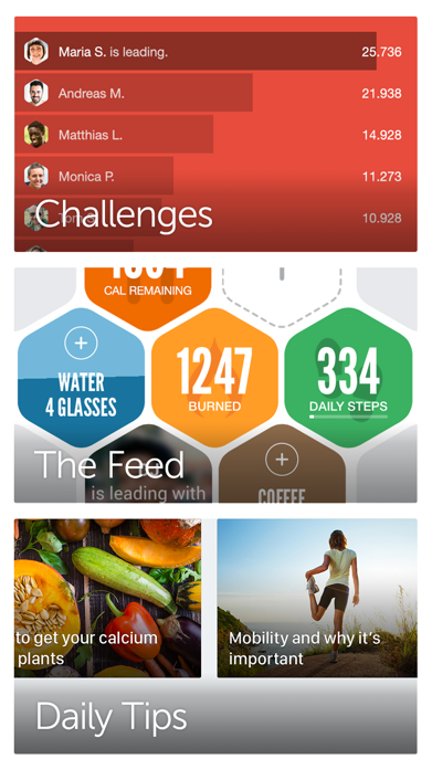 Argus: Calorie Counter & Step Screenshot