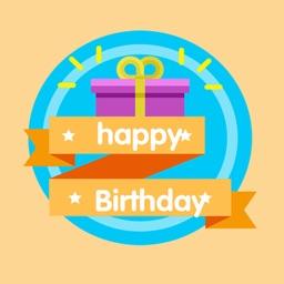 Birthday Wishes Stickies