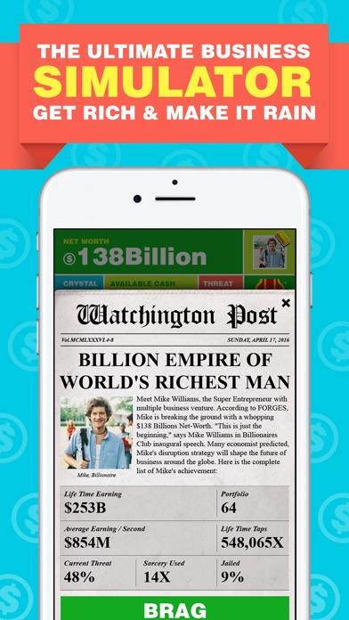 Billionaire. Screenshot 3