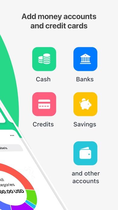 Wallet:個人財務&金銭追跡のスクリーンショット2