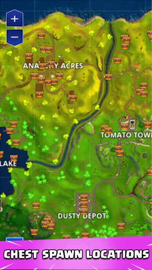 Map Guide For Fortnite Im App Store