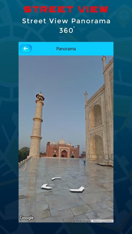 Live Street View Navigation