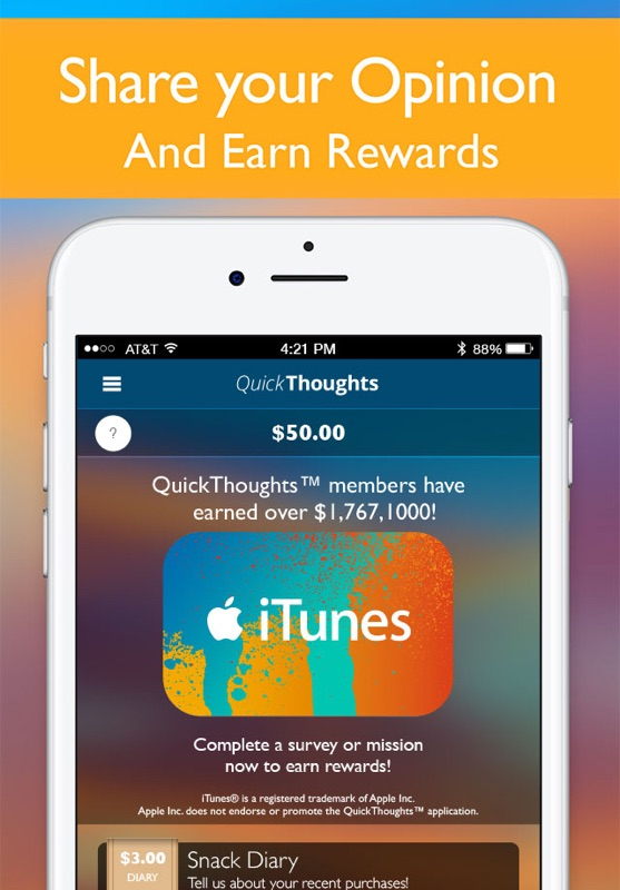 QuickThoughts - Earn Rewards - Online Game Hack and Cheat