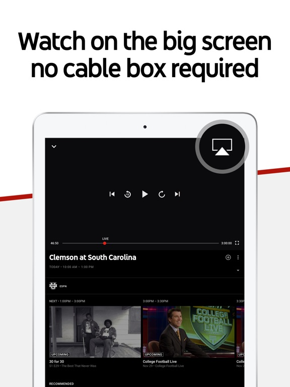 YouTube TV Screenshots