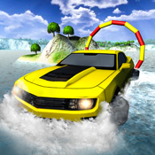Floating Water Car Driving
