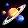 太陽系3D:天体観測と星座表