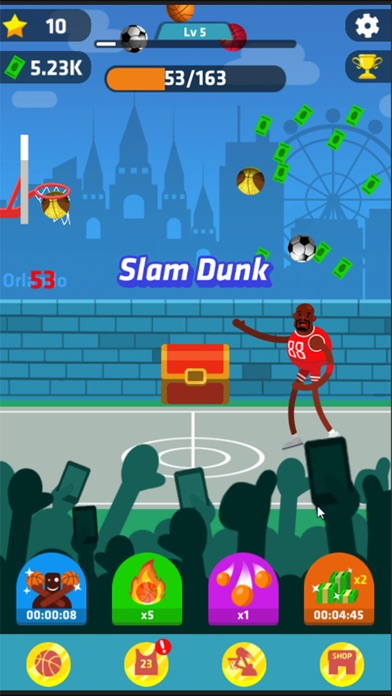 Idle Dunk Masters Скриншоты5