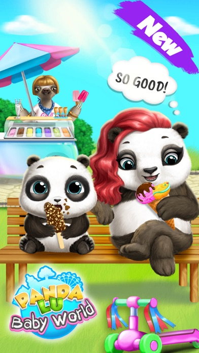 Panda Lu Baby Bear World screenshot 1