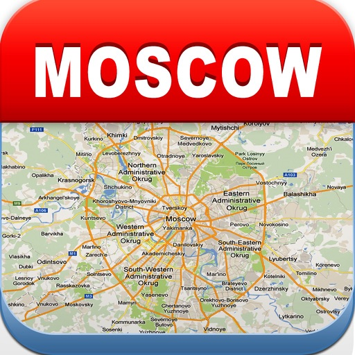 Moscow Offline Map - Metro