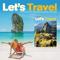 App Icon for Let's Travel Magazine App in Nigeria IOS App Store