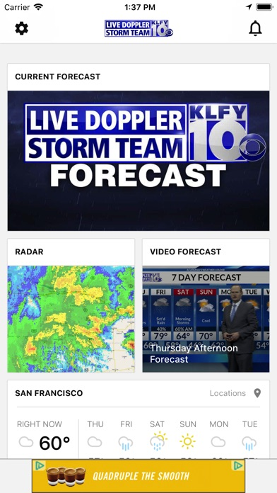 Top 10 Apps like Intellicast Weather Radar Storm Tracking Precision