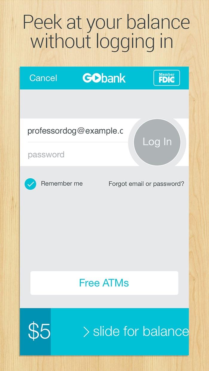 GoBank Screenshot