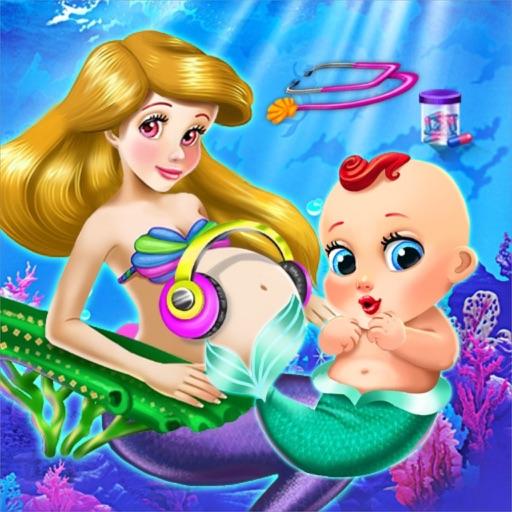 Pragnant Mermaid Care Newborn
