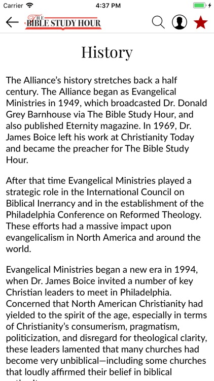 The Bible Study Hour screenshot-4