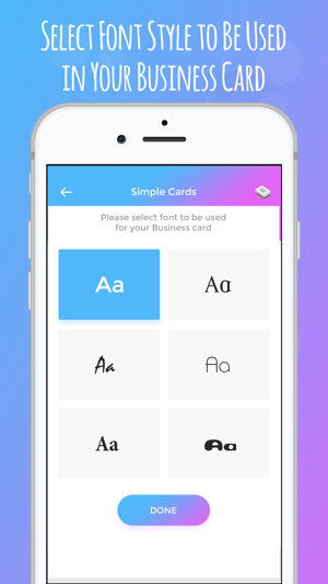 IBusiness Card Maker On The App Store