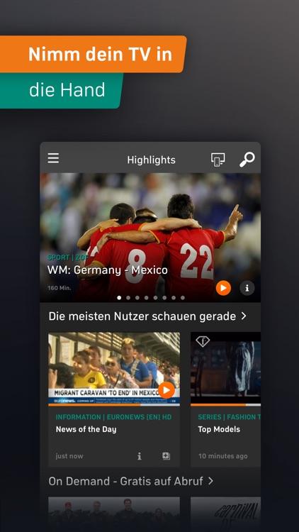 Zattoo Deine WM App screenshot-3