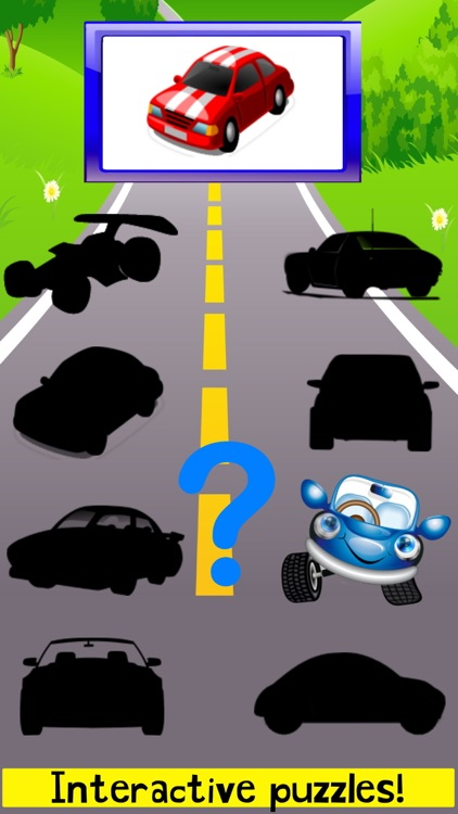 Car Puzzle Games! Racing Cars screenshot-3