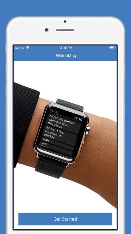 WatchMsg for FB Messenger