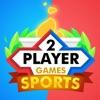 2人用ゲーム-スポーツアイコン