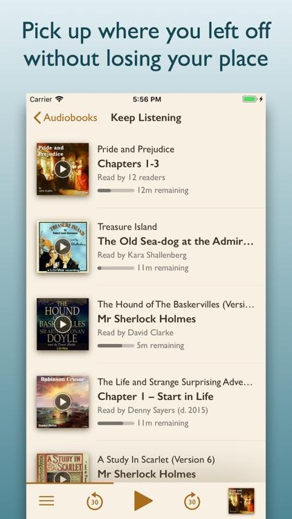 Oldio - Audiobook Classics screenshot-3