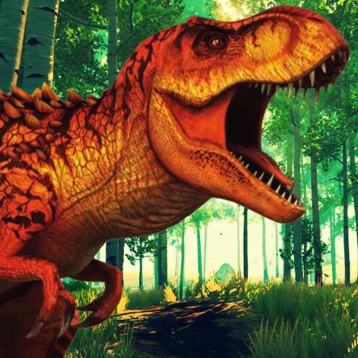 Jurassic Dinosaur Jungle Hunt