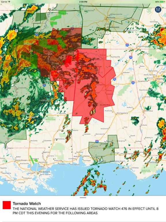NOAA Hi-Def Radar Pro | App Price Drops