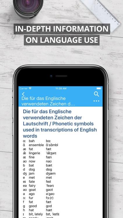 Oxford German Dictionary 2018 screenshot-4