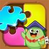 佩奇拼图游戏-粉红小猪爱玩的益智小游戏