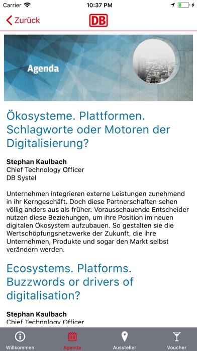 DB Digital Summit 2018Screenshot von 3