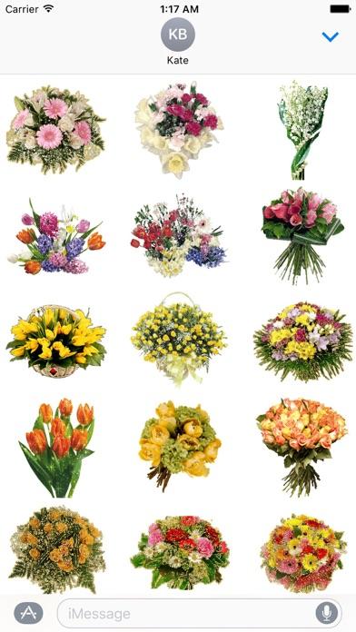 Animated Fresh Flower Bouquets screenshot 2