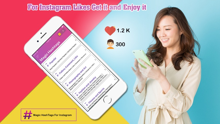 Top HashTags Pro for Instagram