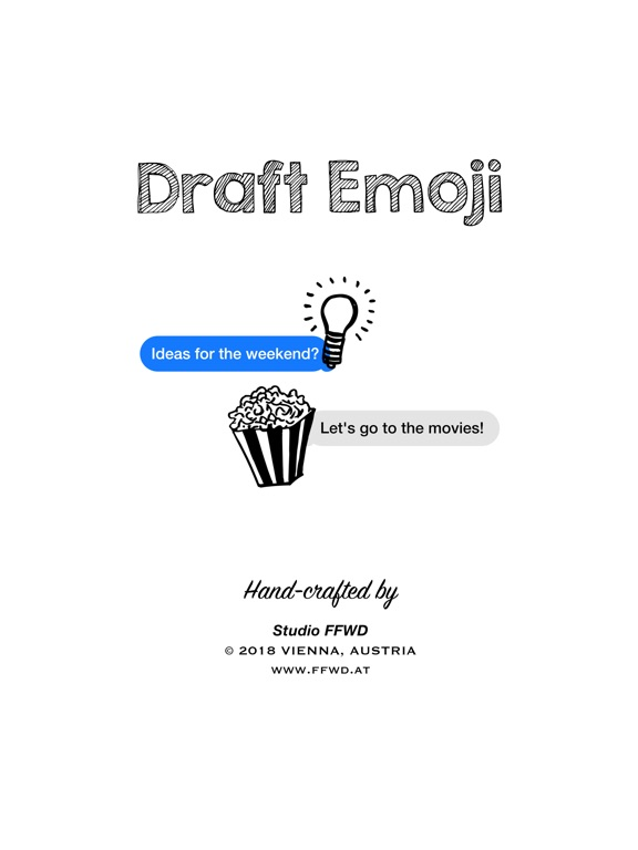 Draft Emoji: Doodle Objects screenshot 6