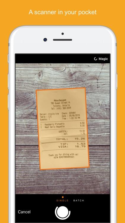 Genius Scan - PDF Scanner screenshot-0