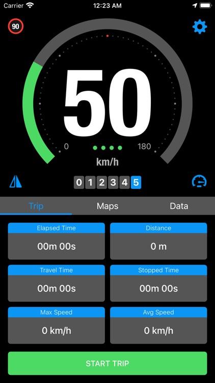 Speedo - Smart GPS Speedometer screenshot-3
