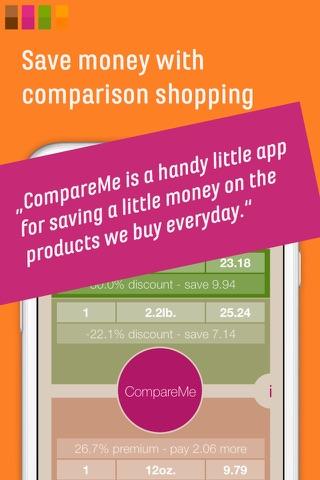 CompareMe Price Comparison - náhled