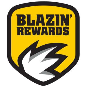 Blazin' Rewards Food & Drink app