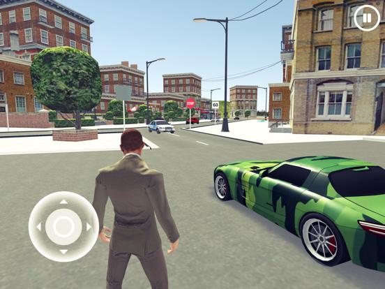 Driving School 3D Simulator iPad app afbeelding 1