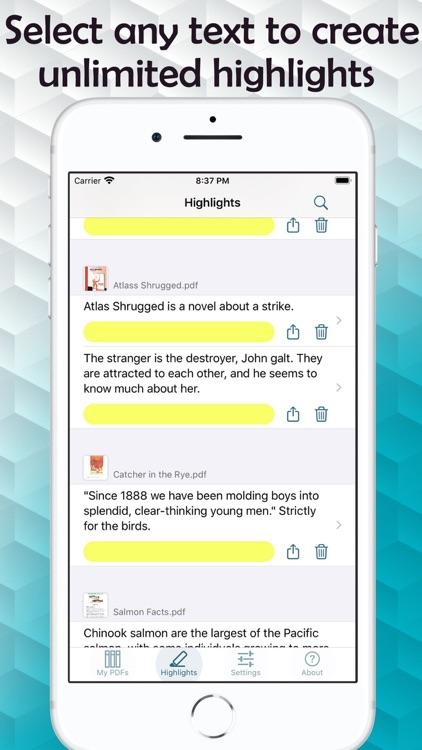 Text to Speech PDF Reader screenshot-3