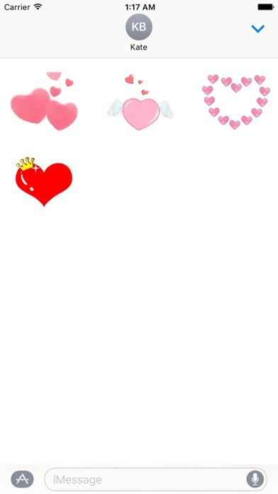 Love And Heart Sweet Sticker screenshot 3