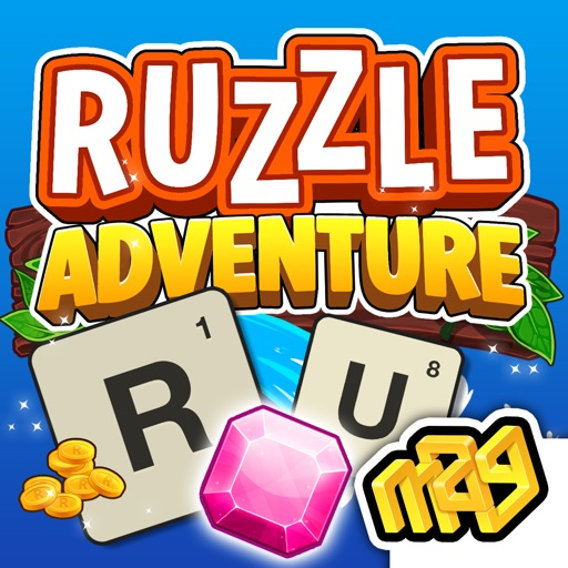 Ruzzle Adventure iOS App