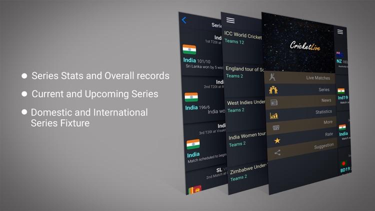 CricScore- Live Cricket Scores