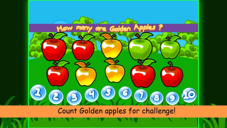 Count 123 numbers with Apples screenshot-3