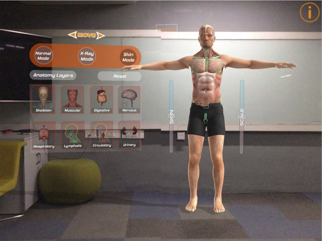 Human Anatomy 4D-Mixed Reality on the App Store