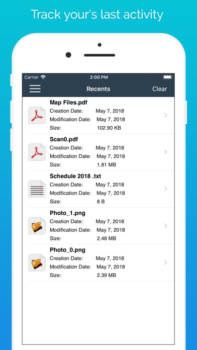 Dateimanager PRO - DokumenteScreenshot von 4