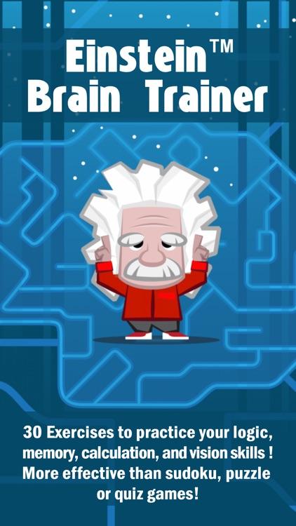 Einstein™ Brain Training HD screenshot-0