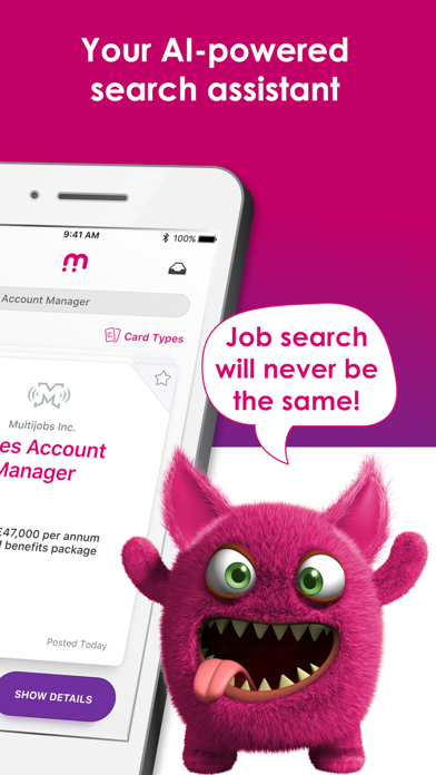 jobmagnet job search screenshot two