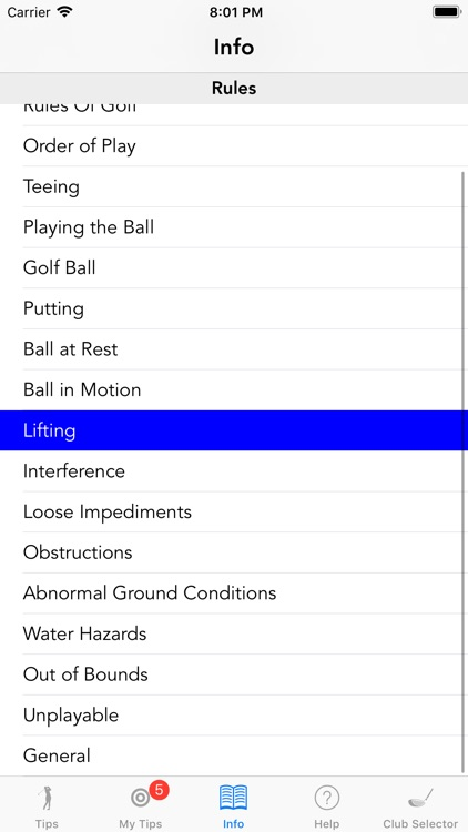 Lady Golfmaster Tips screenshot-4